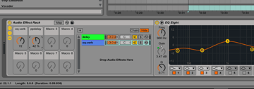 Fourth Effect Rack in Ableton