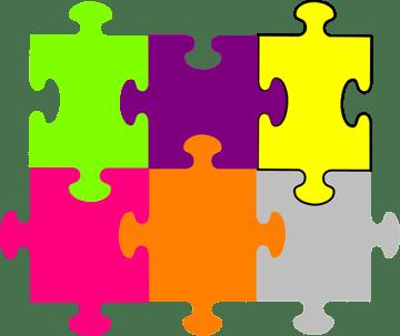 Jigsaw piece puzzle prototype
