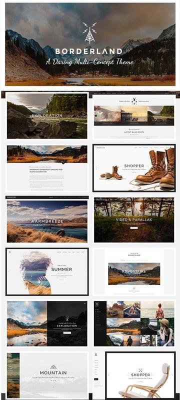 Borderland - Best WordPress Theme