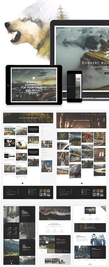 Ronneby WP Creative Folio Theme