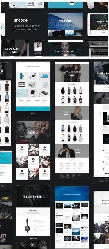Uncode - Multi-Use WordPress Portfolio Theme