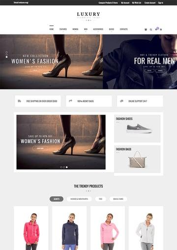 Luxury - New 2016 Magento eCommerce Site Template