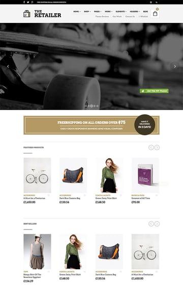Responsive WordPress WooCommerce Theme