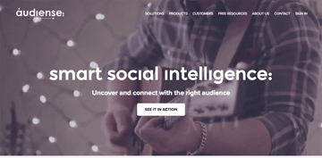 Audisense - With advanced social audience insight tools
