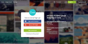 Canva - Social Media design tool