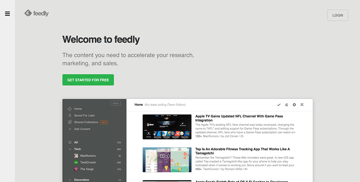 Feedly - Feed reader with social integration