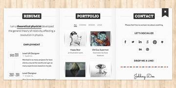 BookCard WP Responsive CV vCard Theme
