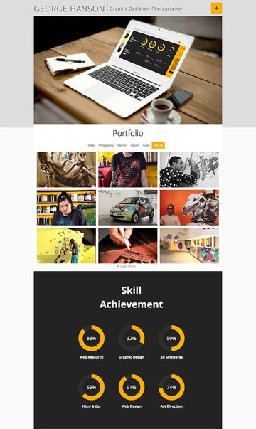 Profession - Flexible WordPress Resume Theme