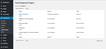 Installing the necessary plugins for the Point Finder directory theme