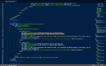 Editing HTML code