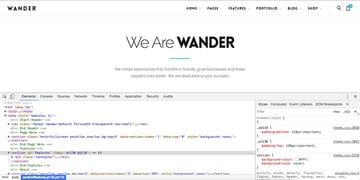 Inspecting CSS