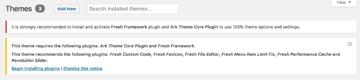 Activate your WordPress Plugins