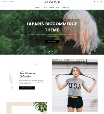 LaParis BigCommerce Theme