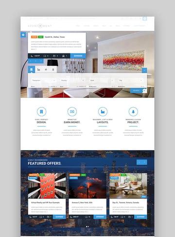 Apartment WP single property WordPress theme