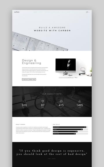 Carbon - Innovative Simple WordPress Theme