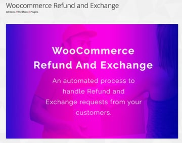 Woocommerce Refund and Exchange