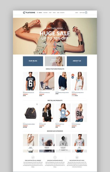 Flatsome multipurpose theme