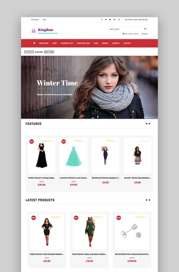 Kingdom WooCommerce theme