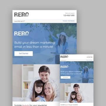 Repo Mail MailChimp template