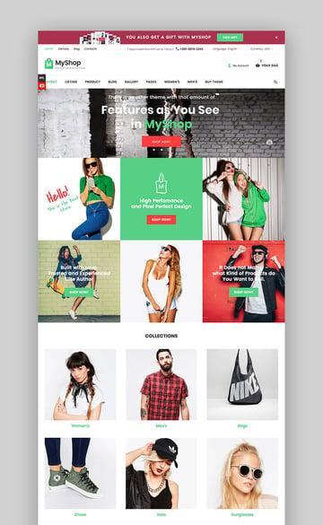 MyShop responsive theme