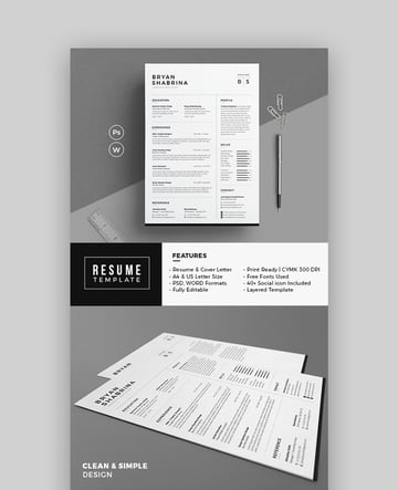 Resume - Clean Resume Template