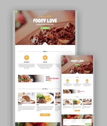 Food HTML Restaurant Template