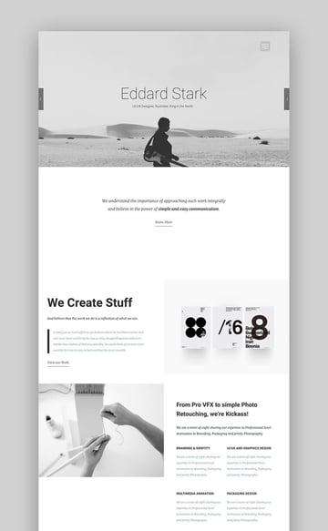 Kora Creative Photography Theme