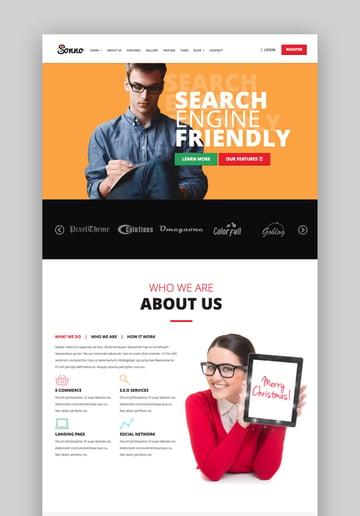 Sonno WordPress Landing Page Theme
