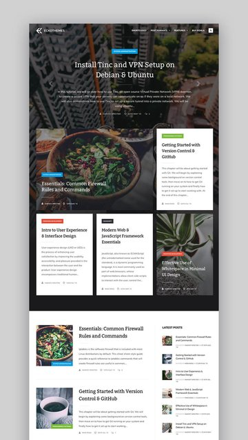 Koala WordPress video theme