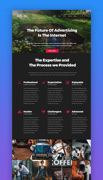 Cordon WordPress theme