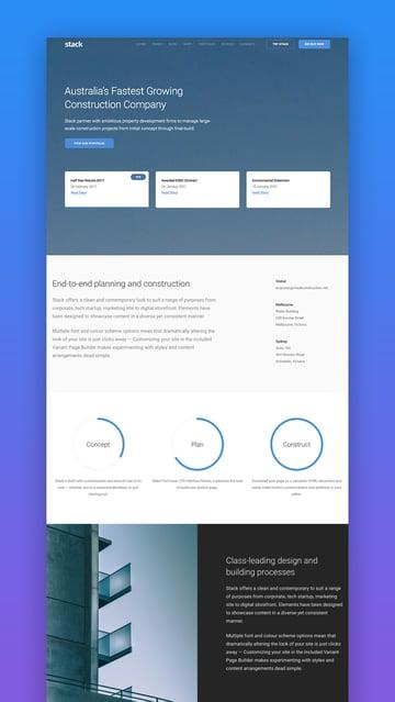 Stack WordPress theme