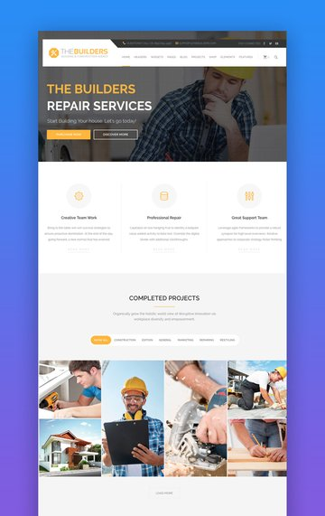 The Builders WordPress Theme