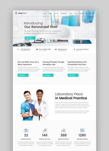 MediClinic Arzt WordPress Theme