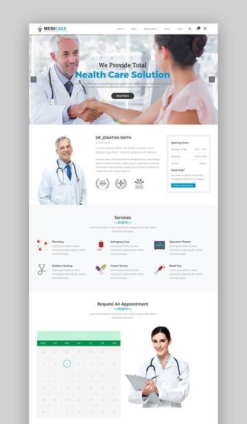 Medizinisch ansprechendes WordPress-Theme