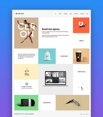 Buran SEO WordPress theme