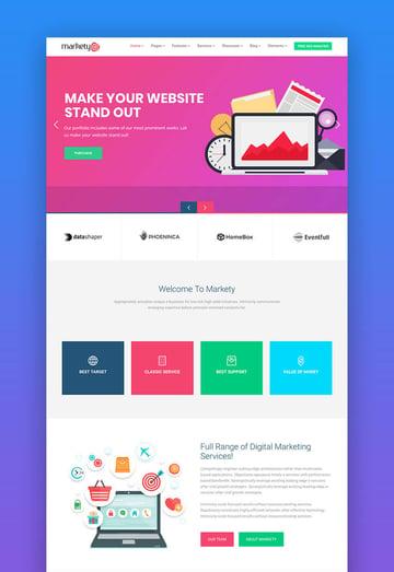 Markety SEO WordPress theme