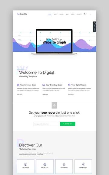 Searchly SEO WordPress theme