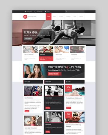 FIT WordPress minimal theme