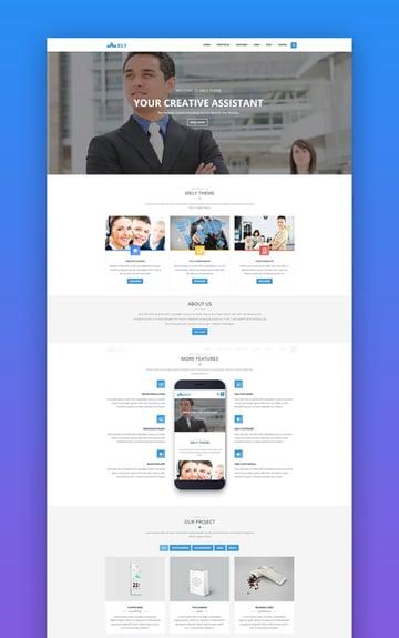 Mely - Drupal 7 Bootstrap Theme para Negocios
