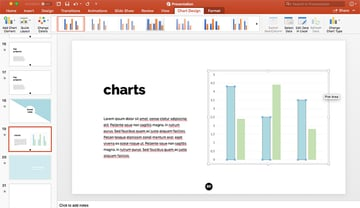 Editing Charts in PowerPoint
