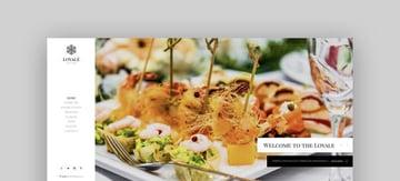 Loyale responsive restaurant Joomla template