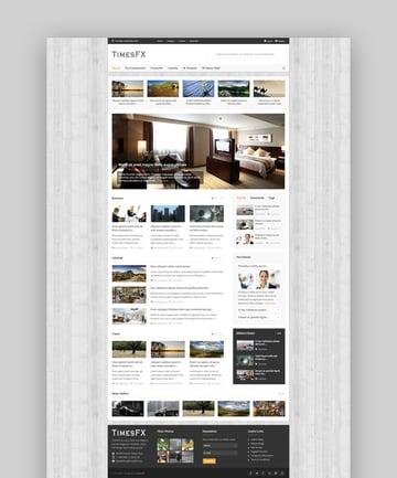 TimesFX personal blog template
