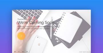 IQON coming soon landing page