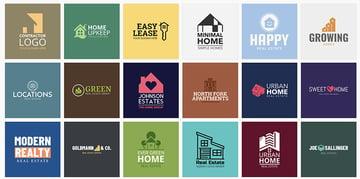 Placeit Real Estate Logo Templates