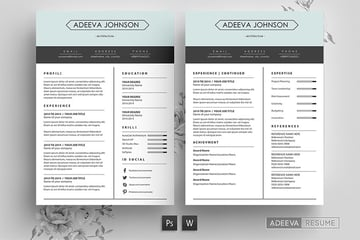 Using columns in resumes