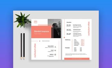 Resume CV Vol 15 - Clean Resume Template
