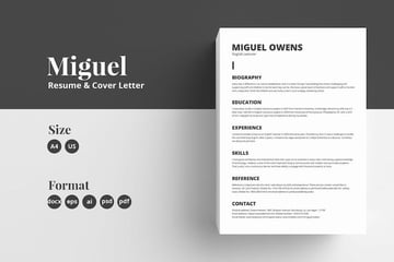 Miguel Resume  Cover Letter