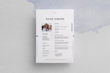 Design Resume From Envato Elements