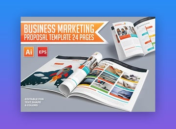 Business Marketing Proposal - Awesome Business Proposal Template