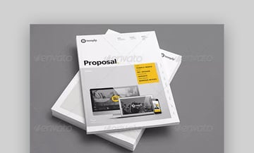 Proposal Template - Professional Business Proposal Template